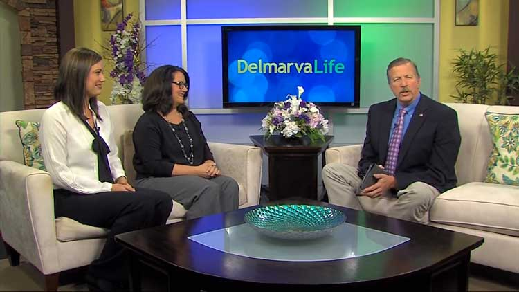 Attorneys Michele Procino-Wells and Amber Woodland on Delmarva Life